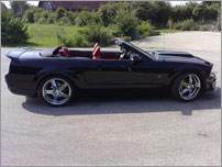 Croatia Luxury Car Rental - Ford Mustang GT V8 Cabrio