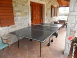 Table tennis - High quality villa with pool in Istria near Labin and Rabac