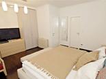 Bedroom in the luxury villa in Dubrovnik