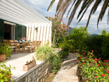 Luxury Beachfront Villa on Peljesac overlooking gardens