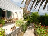 Luxury Beachfront Villa on Peljesac overlooking gardens