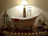 Luxury Beachfront Villa on Peljesac - Romantic Master Bathroom