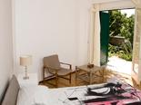 Luxury Beachfront Villa on Peljesac - Guest bedroom with patio