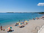 Luxury Beachfront Villa on Peljesac - Pebble beach below villa