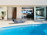 Luxury seafront villa in Bol - the pool