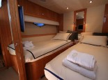 Sunseeker 75 Twin Bedroom - Luxury Yacht for Rent in Split Croatia