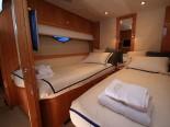 Sunseeker 75 Twin Bedroom - Luxury Yacht for Rent in Split Croatia