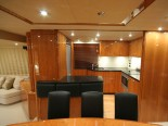 Sunseeker 75 Kitchen - Luxury Yacht Rental Split Croatia