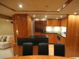 Sunseeker 75 Kitchen - Luxury Yacht Rental Split Croatia