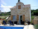 Dalmatian stone house in Supetar on Brac island