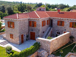 This luxury renovated villa in Konavle in Dubrovnik Region has traditional Dalmatian architecture