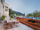 View from the terrace of this Dubrovnik villa