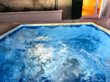 Jacuzzi in the luxury design villa in Dubrovnik