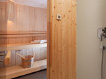 Sauna in the Dubrovnik design luxury villa