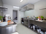 Kitchen is on the ground floor of this five stars design villa in Dubreovnik