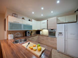 Kitchen in the first floor apartment in luxury villa near Trogir