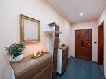Hallway in the first floor apartment in Ciovo luxury villa