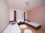 Twin bedroom in the first floor apartment in Ciovo luxury villa