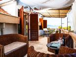 Second floor of luxury villa near Trogir - Apartment 2 - the terrace