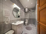 Bathroom in ground floor room in this luxury villa on Ciovo Island near Trogir