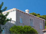 Dubrovnik luxury residence villa on Lopud Island from the outside