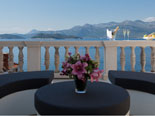 The view on the sea and mainland is also open from the terrace of the luxury villa on Lopud in Dubrovnik