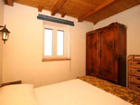 Another view on the double bedroom in the holiday house on Brač Island