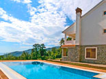 Villa in Ičići with pool and astonishing view