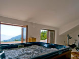 Jacuzzi and gym in villa in Ičići in Croatia