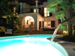 Exclusive seafront villa with swimming pool for rent in Umag Istria