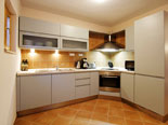 Kitchen in villa with pool for rent in Hvar town in Dalmatia - Croatia