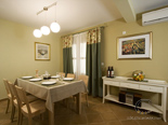 Dining area in holiday rental villa with pool in Hvar - Dalmatia - Croatia