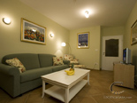 Living room in holiday rental villa with pool in Hvar - Dalmatia - Croatia