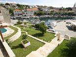 View from the old Dalmatian stone villa in Sumartin on Island of Brač Croatia