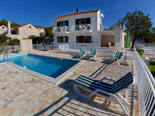 Dalmatian stone house rental villa in Sumartin on Brač Island
