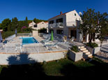 Dalmatian stone holiday rental villa in Sumartin on Brač Island