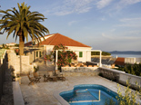 Traditional Dalmatian villa in Sumartin on Brac in Split region