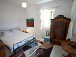 Front upstairs bedroom in house in Stari Grad on Hvar island in Dalmatia