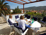 View from terrace of the Stari Grad holiday house for rent