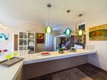 Kitchen in villa in Baska voda on Makarska riviera