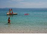 Nearby beach in Baska voda in Croatia