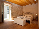 Bedroom in the holiday house for rent in Omiš