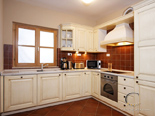 Kitchen in the holiday villa with pool in Hvar Dalmatia Croatia