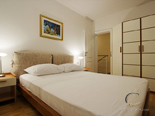 Bedroom in the holiday rental villa with pool in Hvar Dalmatia Croatia