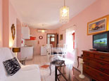 Other view on kitchen, living and dining room in Brač rental villa