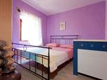 Double bedroom in the Brač villa