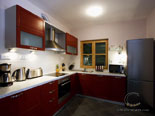 Kitchen in rental villa with pool in Hvar Dalmatia Croatia