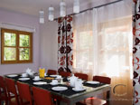 Dining room in rental villa with pool in Hvar Dalmatia Croatia