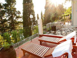 Terrace of the holiday house for rent in Dubrovnik