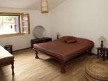 Triple bedroom in the Brač holiday villa